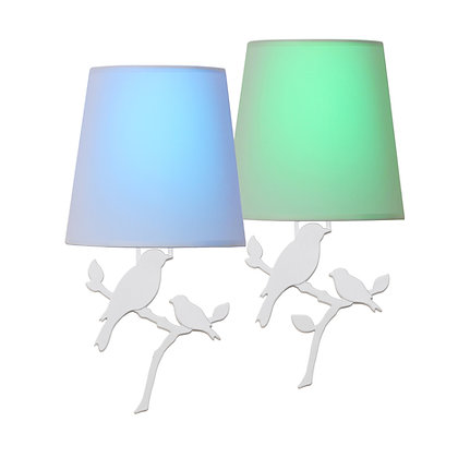 Toucan Smart Sconce Lights (Bird Design: Dual Pack)