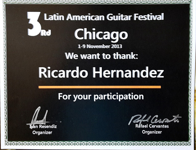3rd Latin American Guitar Fest Chicago