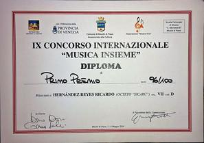 """IX Concorso Internazionale """"Musica Insieme"""""""