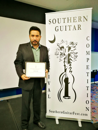 Southern Guitar Festival, 2018
