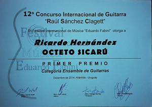 "Concurso Internacional de Guitarra ""Raúl Sánchez Clagett"""