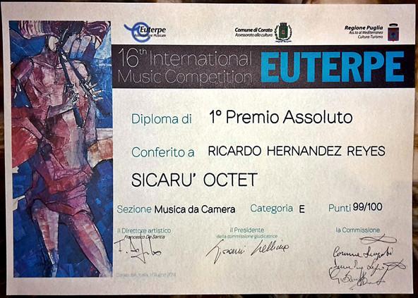 Euterpe International Music Competition.