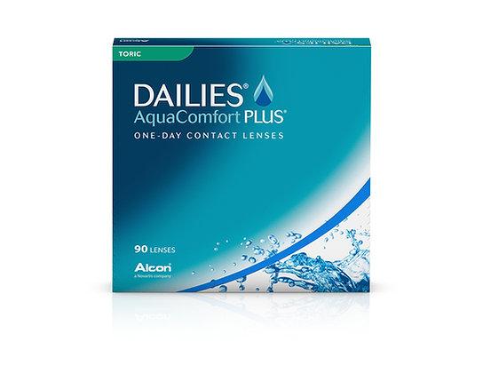 Dailies Aquacomfort plus Toric 90pk