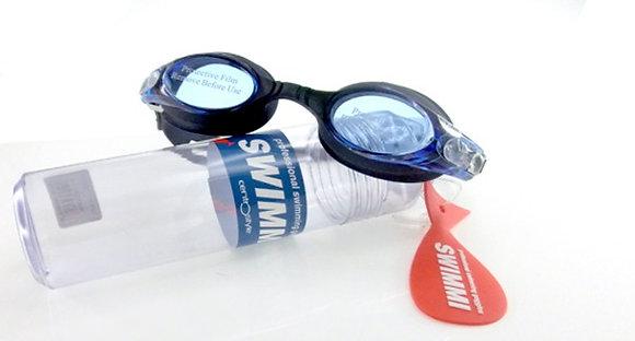 Svømmebrille med styrke