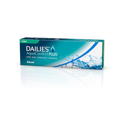 Dailies Aquacomfort plus Toric 30pk