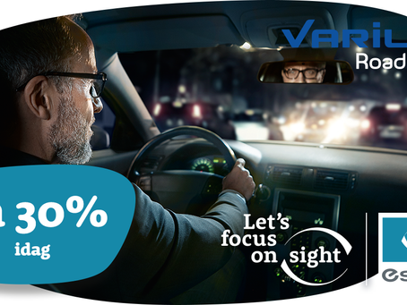 Kjør sikkert - reduserer gjenskinn med opptil 90%
