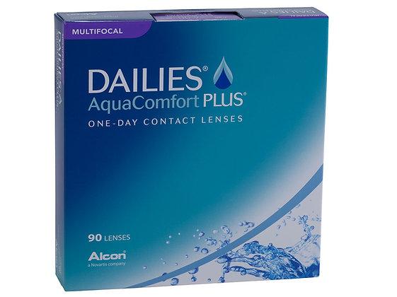 Dailies AquaComfort Plus, Multifocal 90pk