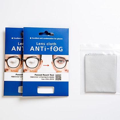 Anti-fog pusseklut