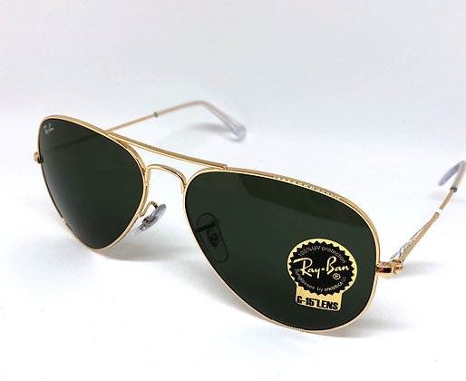 Ray-Ban, Aviator Large Gold, RB3025