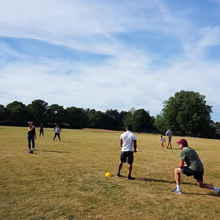 NFA charity rounders match