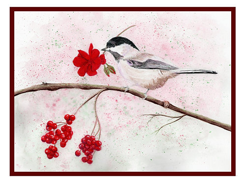 Chickadee Note Card