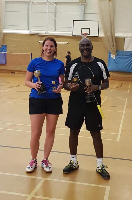 Winners: Becky Smith & Kenroy Harrison