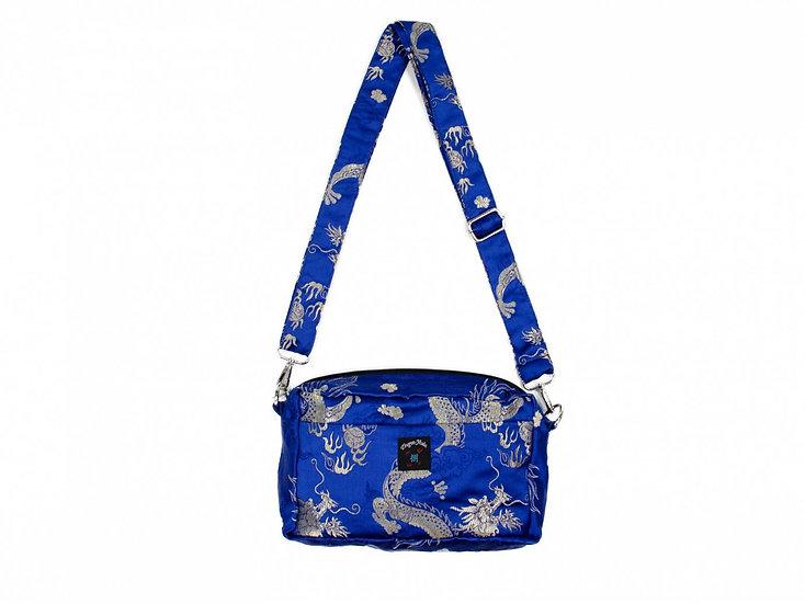Dragon Shoulder Bag Large Blue