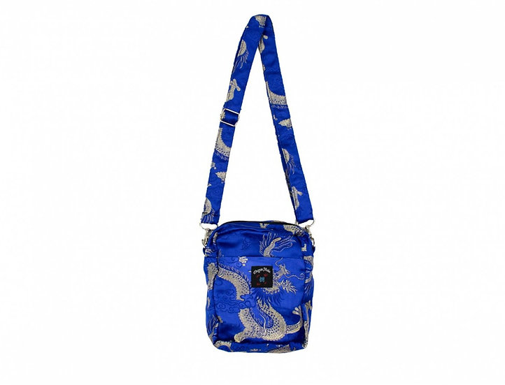 Dragon Shoulder Bag Medium Blue