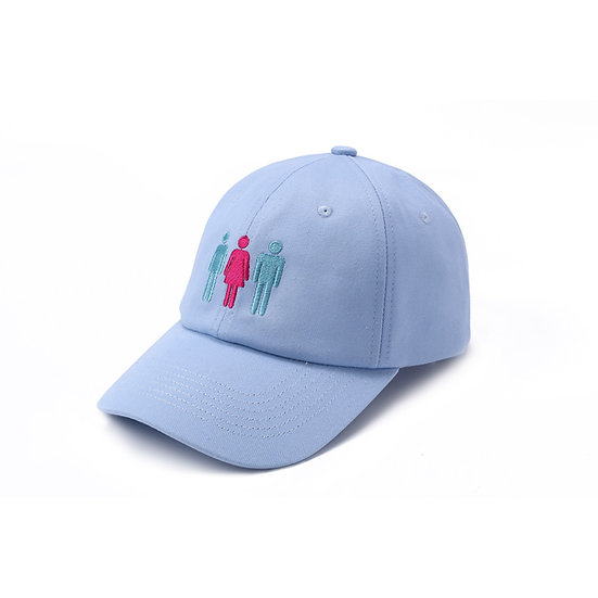 Angry Cap Blue