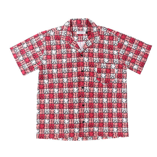Gingham Check DLLM Shirt Red