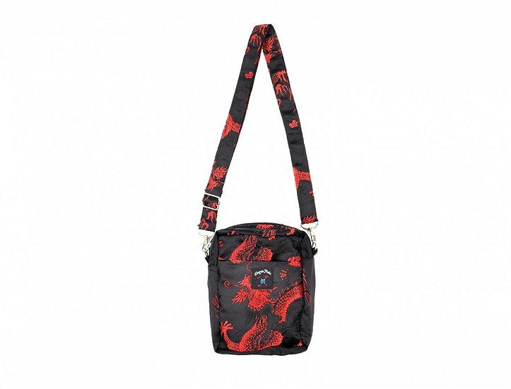 Dragon Shoulder Bag Medium Black