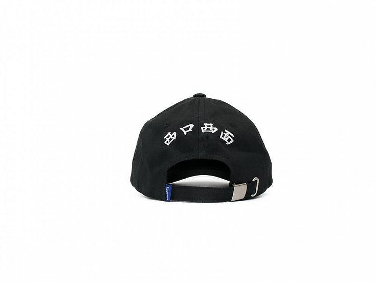 Black THE WEST FACE CAP