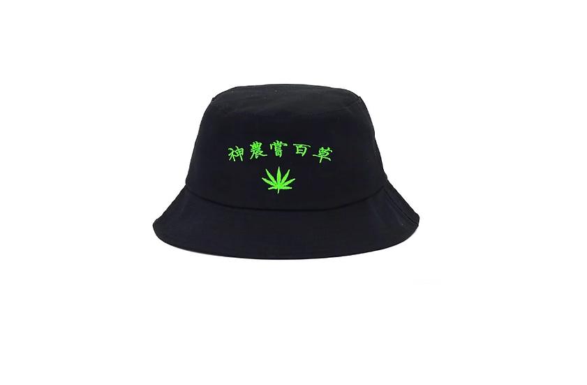 Shennong Bucket Hat Black