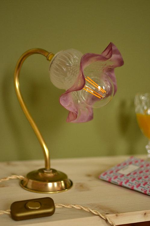 Lampe tulipe rose