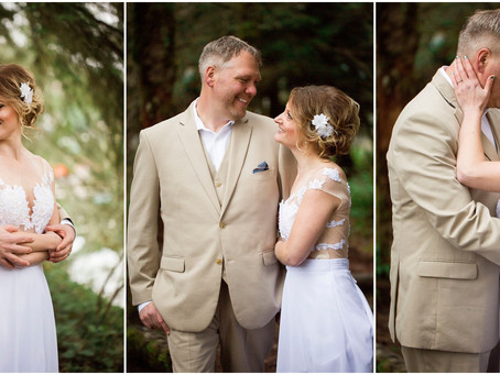 Portland Wedding Photographer | Trent and Tiffany, A bit of Tropics in the Northwest