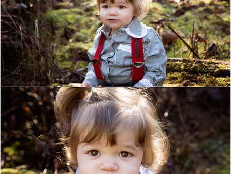 Portland/Vancouver Area Photographer | Babies and Hickory Shirts