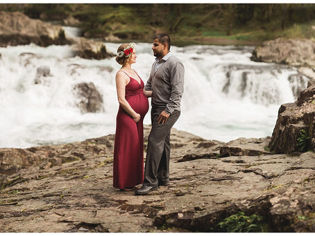 Portland Wedding Photographer | Tony & Kelcee, Maternity!