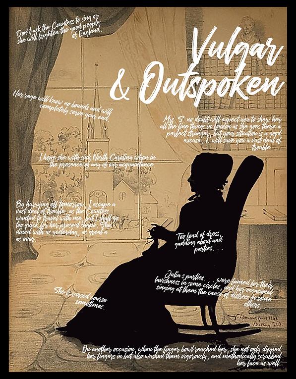 Vulgar & Outspoken, Julia Scarbrough