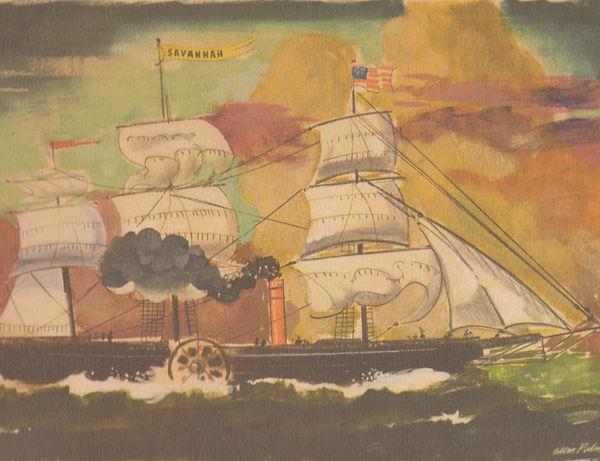 SS Savannah, Arnold Palmer, Ships of the Sea collection