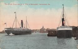 River Front and S.S. City of Memphis