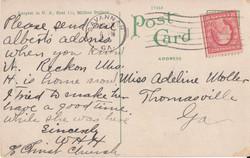 Verso: Ocean Steamship Terminals