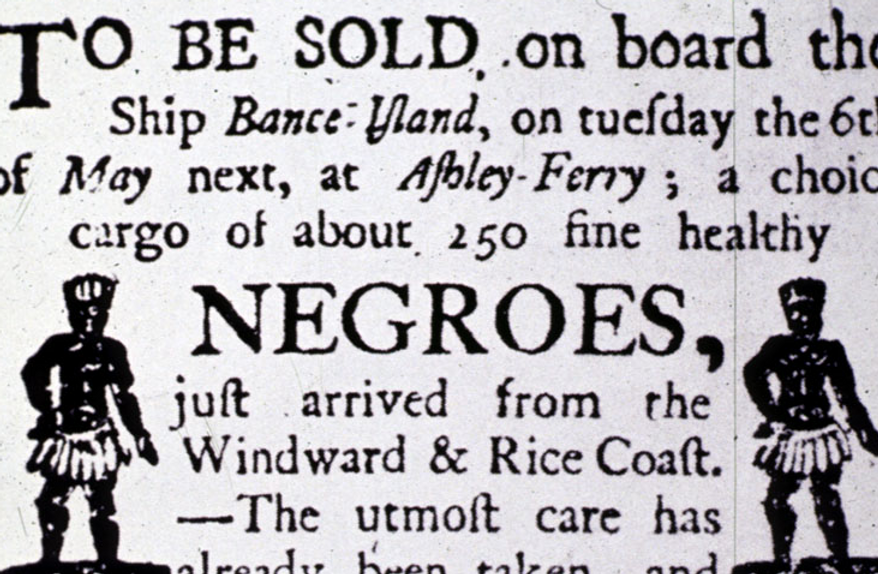 Ad for Slave Sale
