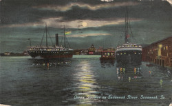 Ocean Steamer on Savannah River