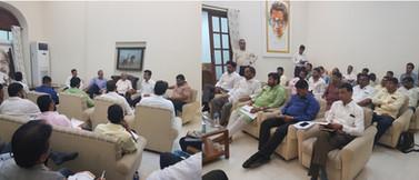 महाराष्ट्राचे उद्योगमंत्री मा. सुभाष देस