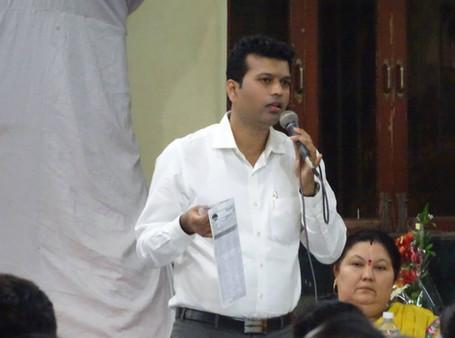 सन्माननीय खासदार डॉ.श्रीकांत शिंदे साहेब