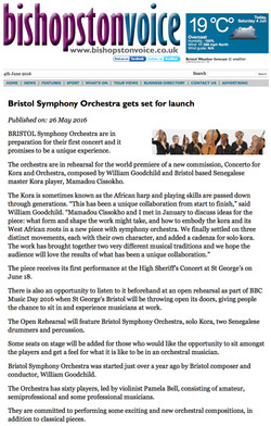 Bishopston Voice Website