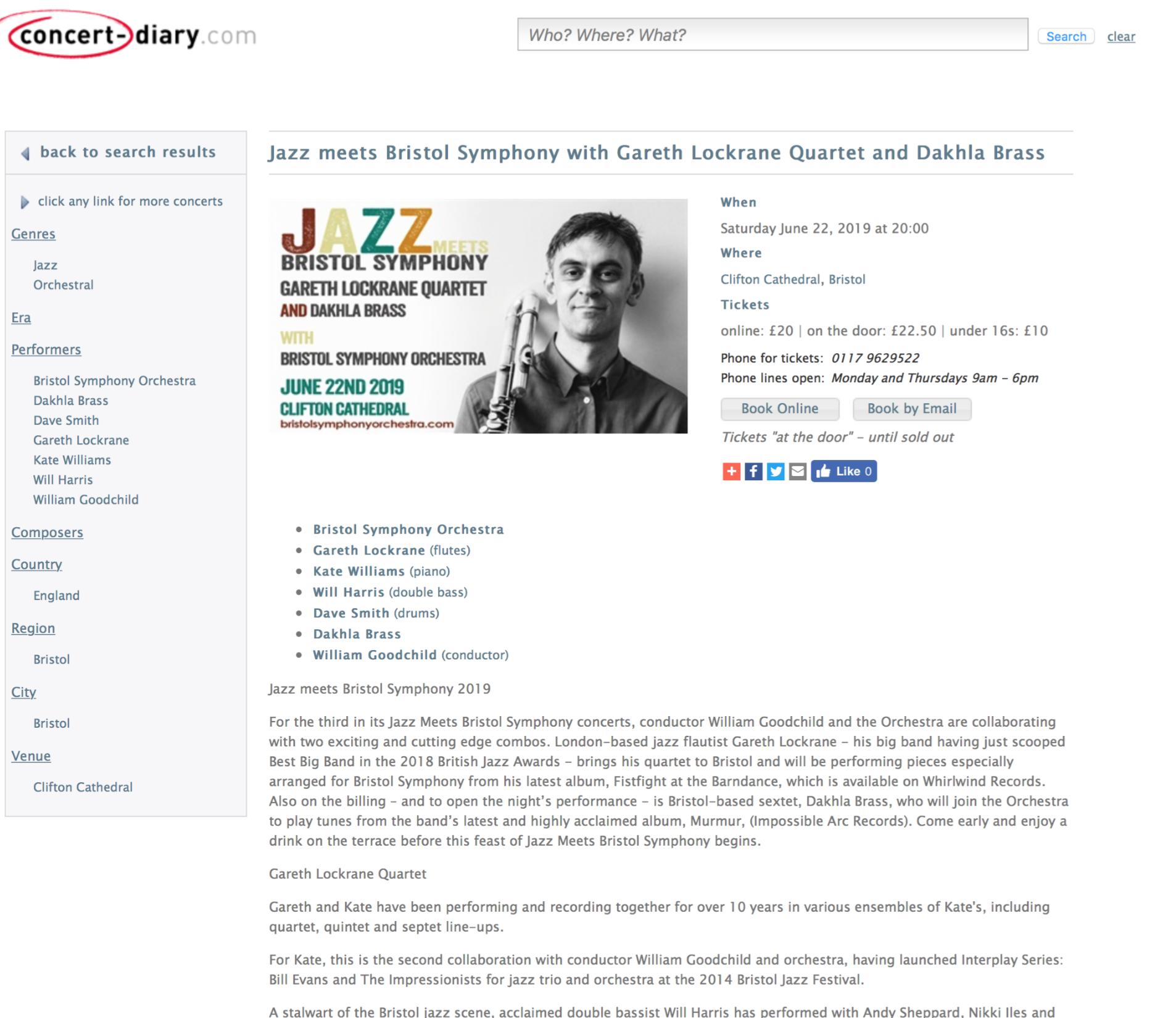 Jazz Meets Bristol Symphony