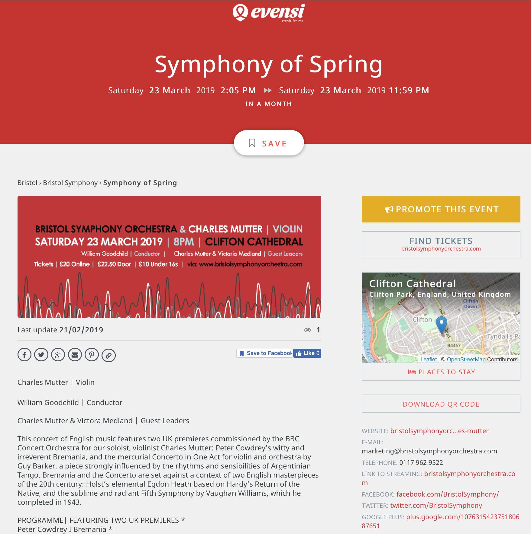 Symphony of Spring