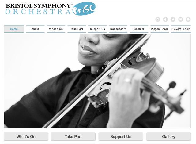 Bristol Symphony Website
