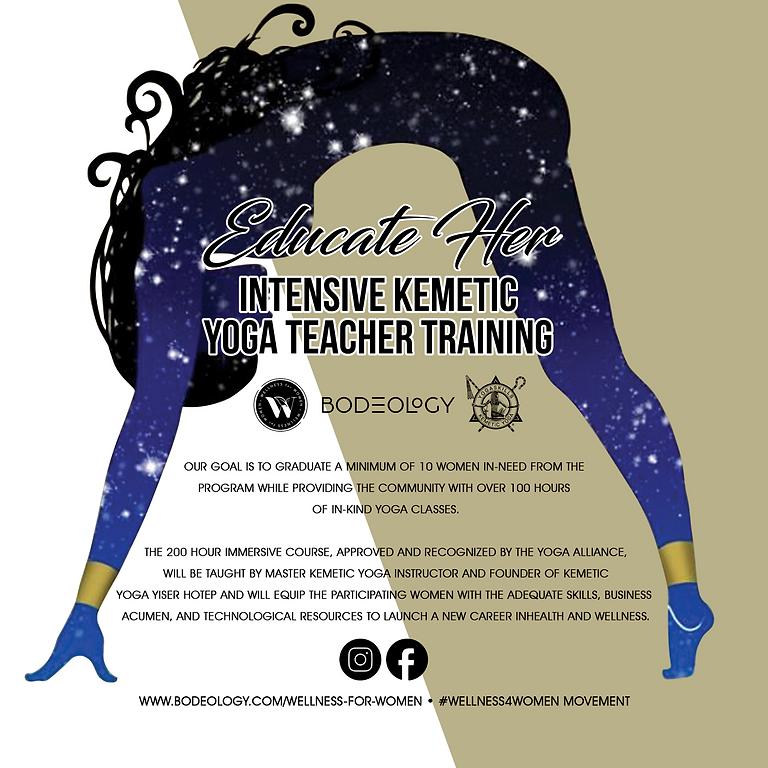 Kemetic Yoga Teacher Training