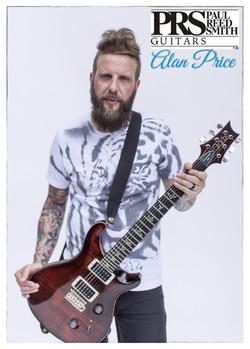 Paul Reed Smith Guitars Endorsement