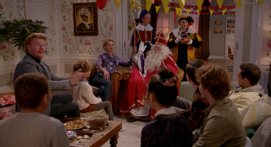 De  Ludwigs/Sinterklaas op slot