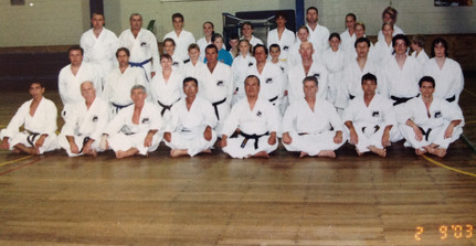Training with Sensei iba Lota PCYC 2003