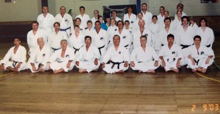 Training with Sensei iba Lota PCYC 2003