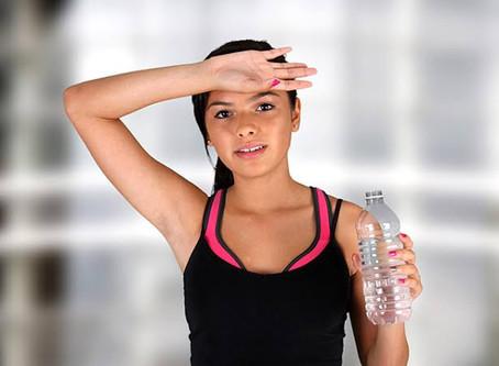 Do you sweat when swimming?