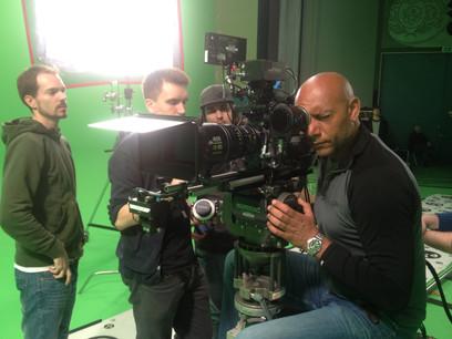 Shooting in studio (Copenhagen, Denmark)