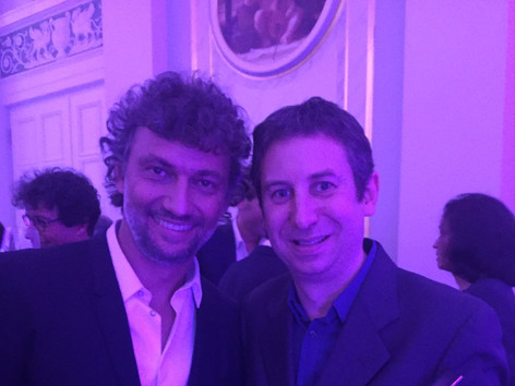 With Jonas Kaufmann