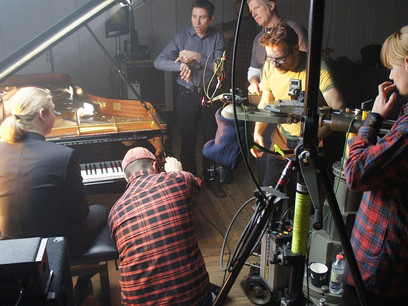 "Shooting of ""Precipitato"" with Denis Kozhukhin"