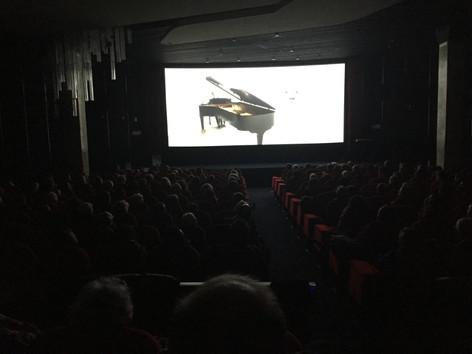 "Screening at cinema ""Le Balzac"" (Champs-Élisées, Paris)"