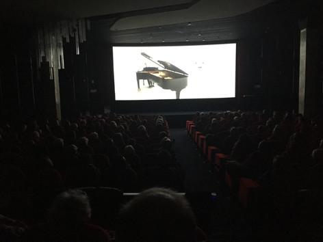 "Screening at cinema ""Le Balzac"" (Champs-Élisée, Paris)"